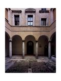 Palazzo del Monte, Antonio da Sangallo the Elder, 1518-1534. Montepulciano, Italy. Art by Antonio da Sangallo the Elder