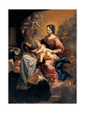 Madonna and Child and St. Gaetano Posters by Mulinaretto Dellepiane