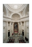 Church of San Carlo alle Quattro Fontane, Rome, interior, 1665-1667 Prints by  Borromini