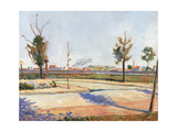 Road to Gennevilliers Arte por Paul Signac
