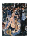 Dance at the Moulin de la Galette Giclee Print by Pierre-Auguste Renoir