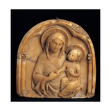 Madonna and Child Prints by  Sienese