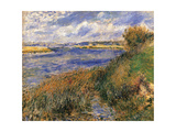 Seine at Champrosay Prints by Pierre-Auguste Renoir