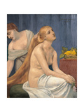 Toilette Art by Pierre Puvis de Chavannes