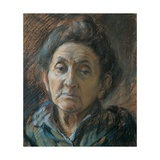 Portrait of an Old Woman Prints by Umberto Boccioni