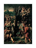 Miracle of S. Anthony of Padua Prints by Pompeo Cesura
