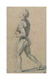 Drawing, Male Nude Walking Affiches par  Raphael