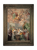 Birth of Mary Posters by Battistello Caracciolo
