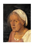 Old Woman (With Time) Print by  Giorgione
