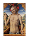 Christ in the Sarcophagus Giclee Print by Antonio Vivarini
