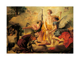 Three Angels Appearing to Abraham Prints by Tiepolo Giambattista