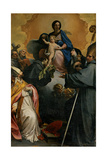 Madonna and Child with Saints Prints by Marco Benefial