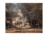 Mill in Saint Nicolas lez Arras Giclee Print by Camille Corot