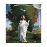 Transfiguration Art by Andrea Previtali