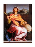 Altarpiece of St. Agnes Prints by  Andrea del Sarto