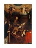 St. Bonaventure Posters by Girolamo Chignoli
