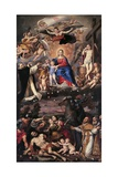 Madonna of the Rosary Prints by  il Domenichino