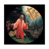 Mysteries of the Rosary, Christ in Garden of Gethsemane Giclee Print by Vincenzo Campi