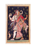 Hindu God. Drawing of Indian subject commissioned by Niccolao Manucci 18th c. Print