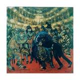 Masked Ball at Scala Theater Prints by Aroldo Bonzagni