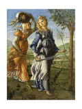 Return of Judith from the Field of Holofernes by Botticelli, c. 1472-73. Uffizi Gallery, Florence Giclee Print by  Botticelli