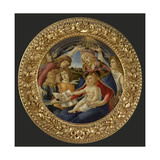 Madonna with Child and Five Angels Giclee Print by  Botticelli