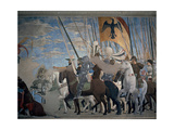 Legend of the Cross: Victory of Constantine Giclee Print by Piero Della Francesca