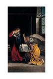 Annunciation Prints by Gentileschi Orazio