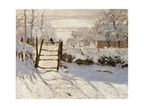 Magpie Giclee Print by Claude Monet