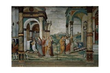 Life of the Virgin Prints by Giulio Campagnola