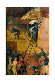 Tryptych of Hay, The Construction Hell Prints by Hieronymus Bosch