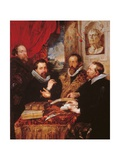 Four Philosophers Art by Peter Paul Rubens