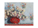 Chrysanthemen Giclée-Druck von Claude Monet