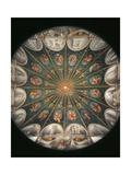 Frescoes in the Camera della Badessa Giclee Print by  Correggio