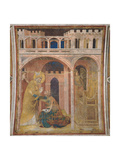 Life of St. Martin, Miracle of Fire Poster von Simone Martini