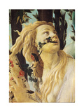 Primavera, Face of Clori Giclee Print by Sandro Botticelli