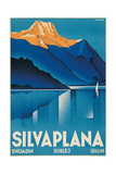Poster for Silvaplana Prints by Johannes Handschin