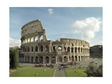 Flavian Amphitheatre or Coliseum in Rome, 79-80 A.D. Rome, Italy Poster