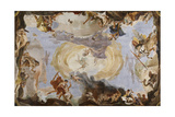 Power of Eloquence Poster by Giambattista Tiepolo
