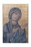 Madonna Advocata, mosaic by unknown artist, 12th c. Palermo, Italy Prints
