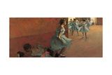 Dancers Going up the Stairs Prints by Edgar Degas