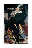 Sts. Cecilia, Valerianus, and Tiburtius Visited by the Angel Posters by Gentileschi Orazio
