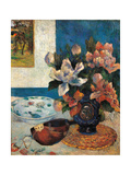 Still Life with a Mandolin Prints by Paul Gauguin