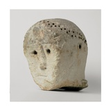 Head with raggiera from Monte Saraceno, 3500 - 2300 B.C. Archaeological Museum, Taranto, Italy Giclee Print