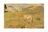 Spring Pasture Posters by Giovanni Segantini