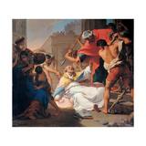 Martyrdom of St. Eusebius Prints by Gaetano Gandolfi