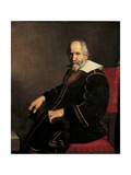 Portrait of an Old Gentleman in His Armchair Prints by Carlo Ceresa