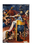 Garden of Earthly Delights-Hell Music Poster von Hieronymus Bosch