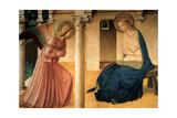 Annunciation Prints by  Beato Angelico