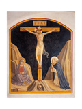 Crucifixion with the Virgin Mary and St. Dominic Posters by  Beato Angelico